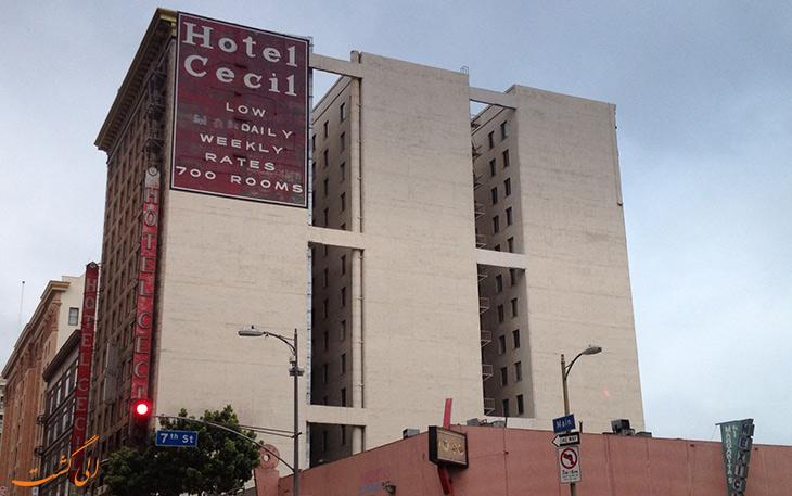 سلسله خودکشی ها در هتل سیسیل