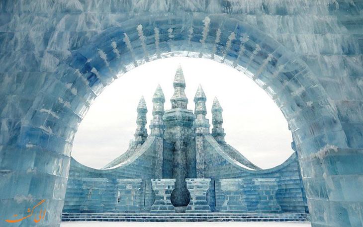 قلعه های یخی چین