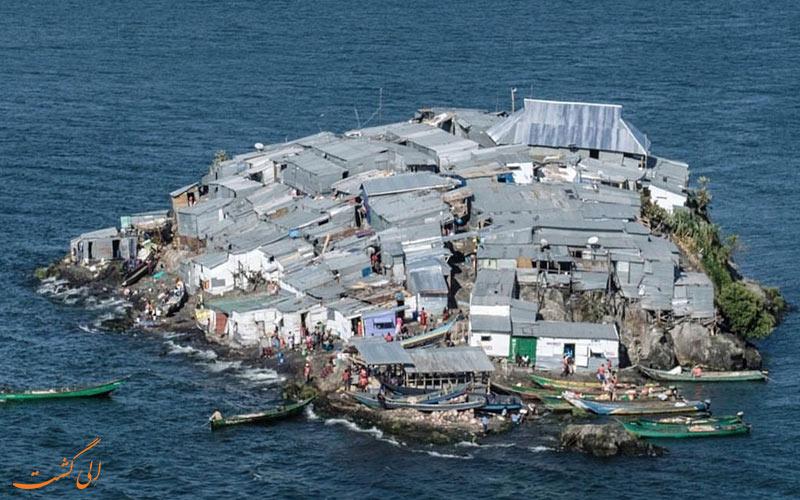 پر جمعیت ترین جزیره