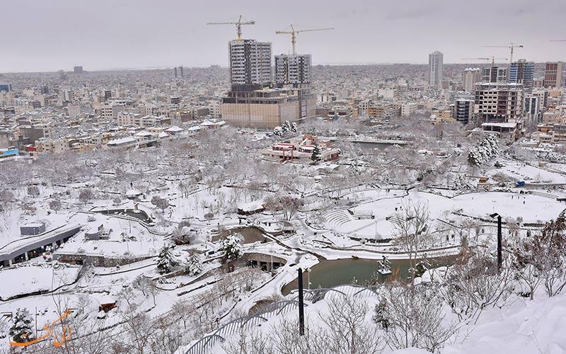 جاذبه های دیدنی مشهد در زمستان