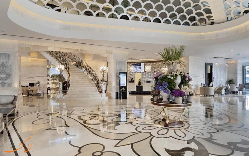 خدمات رفاهی هتل سی وی کی پارک بوسفر استانبول