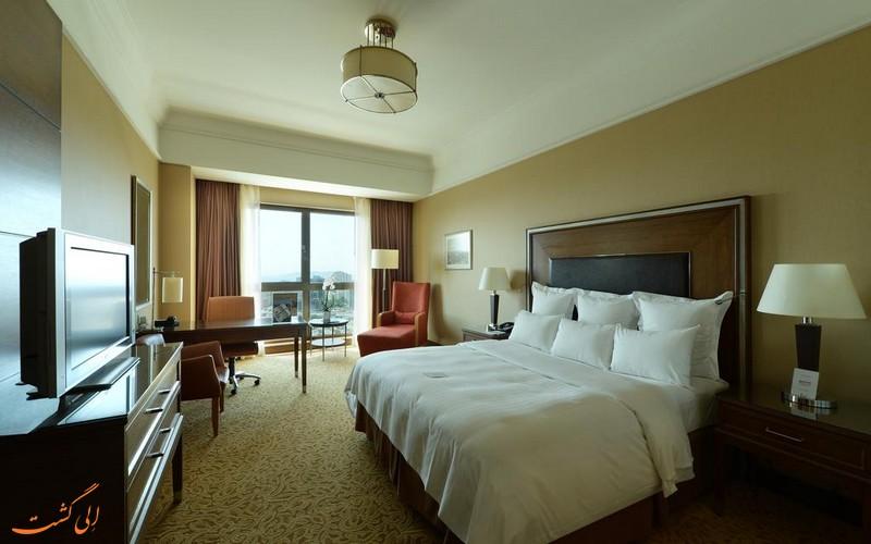 هتل 5 ستاره مریوت استانبول