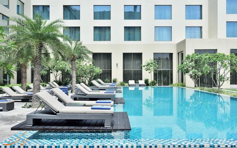 هتل 5 ستاره کورت یارد مریوت آگرا