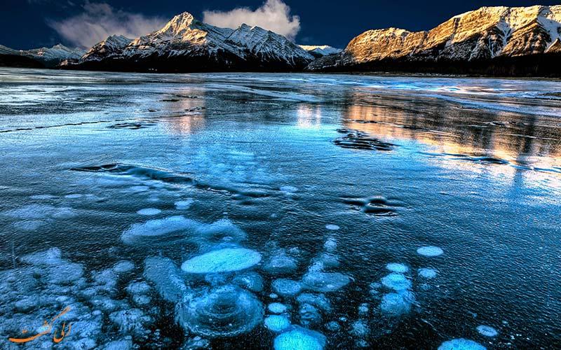 دریاچه ی آبراهام در کانادا | Abraham Lake