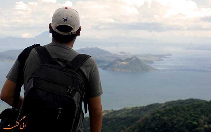 لذت سفر به تنهایی