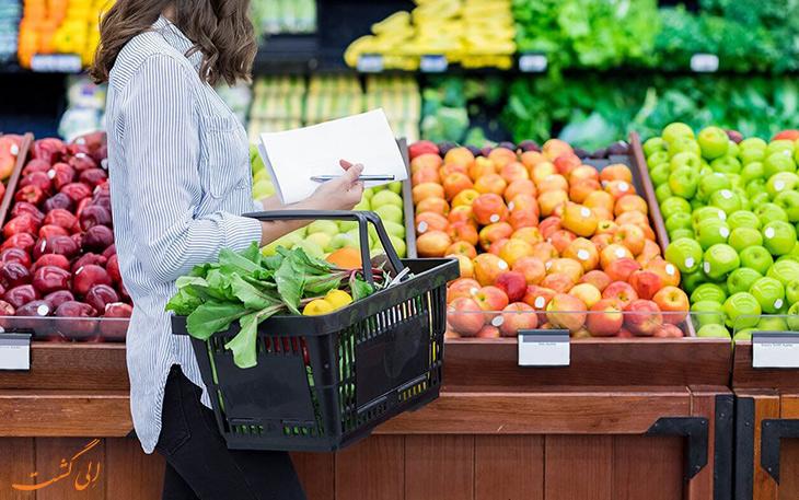 کاهش پسماند مواد غذایی