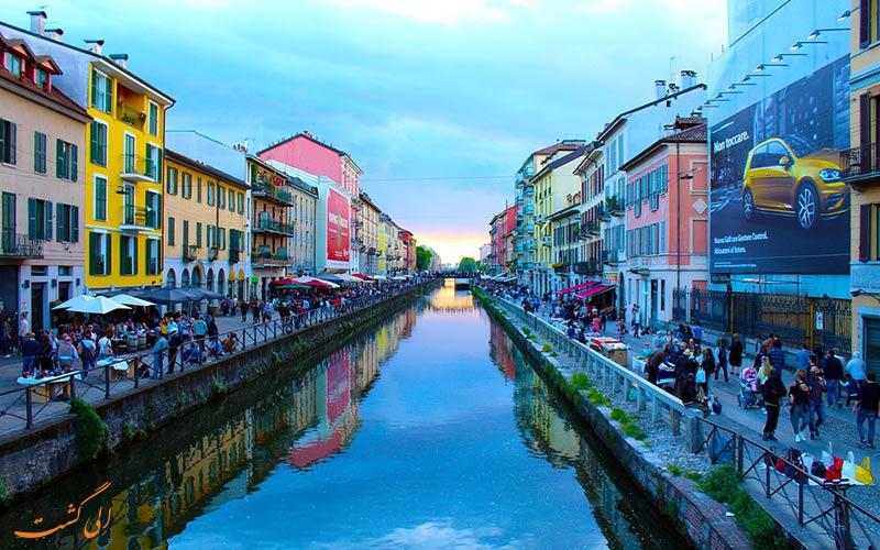شهر میلان در ایتالیا