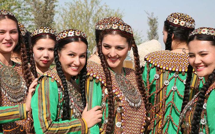 زنان ترکمن صحرا