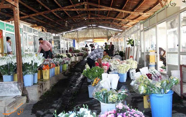 بازار گل خاوران