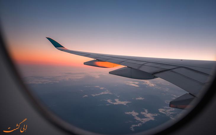 تغییرات سفرهای هوایی