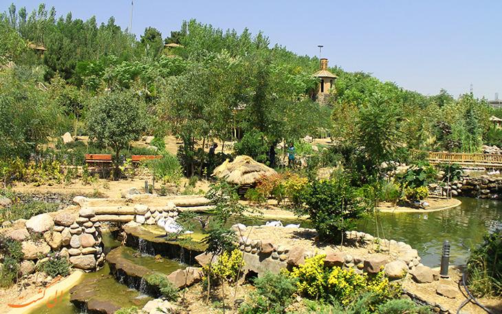 باغ پرندگان تهران و مناطق زیبای اطراف تهران