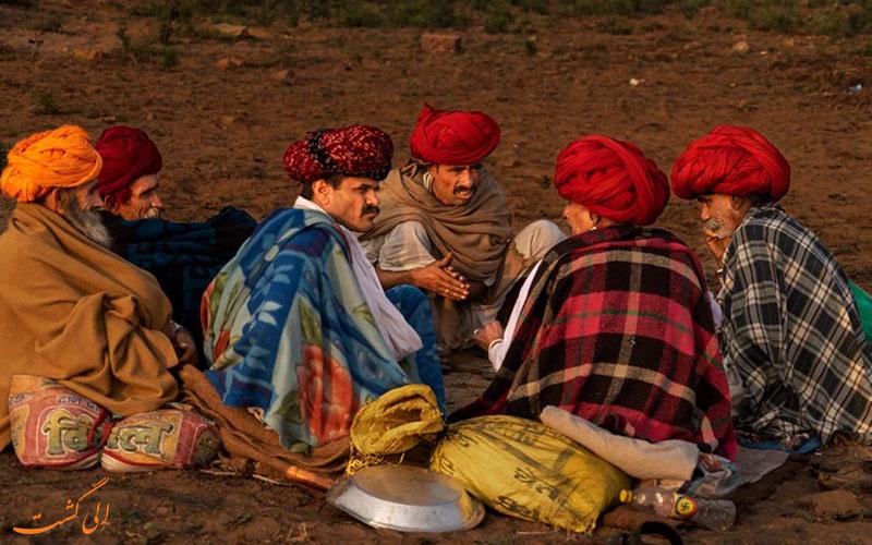 بهترین زمان بازدید از عشایر رابادی هند