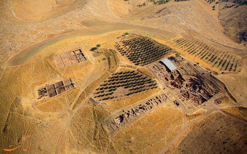 تپه-باستانی-نقشه کامل ترکیه