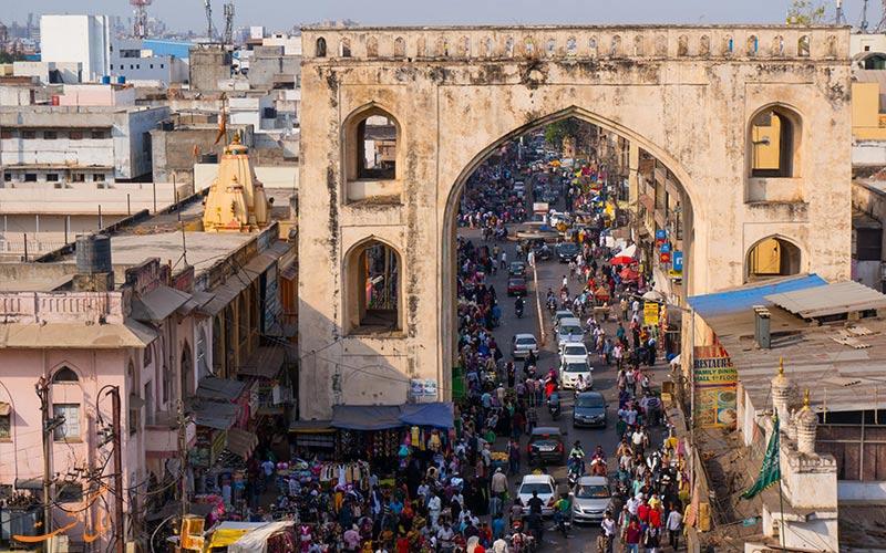 -نقشه کامل هندوستان-حیدرآباد-هند در استان آندهرا پرادش
