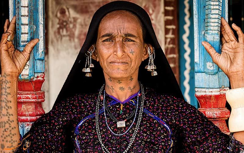 زنان در عشایر رابادی هند