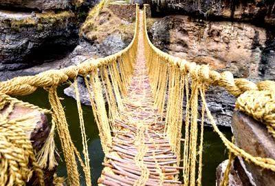 پل طنابی اینکاها-الی گشت