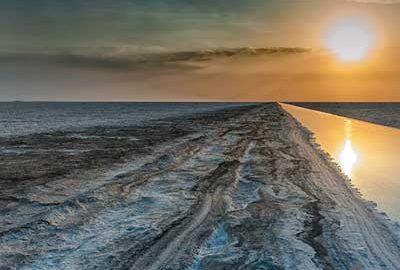 کویر نمکی هند از جاذبه های هند