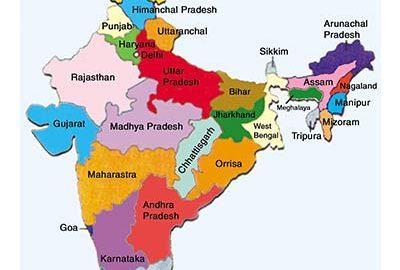 نقشه کامل هندوستان-الی گشت