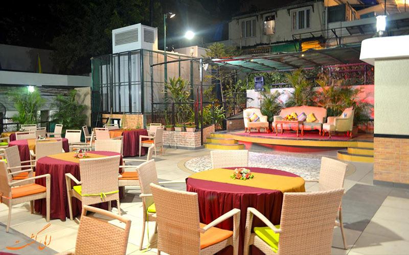 هتل امرالد جوهو بمبئی-فضای باز هتل