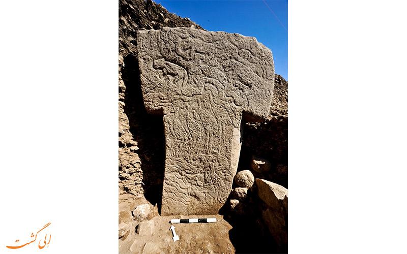 گوبکلی تپه ترکیه-نقش روی ستون ها