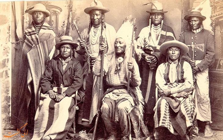 قوم آپاچی از بومیان آمریکا