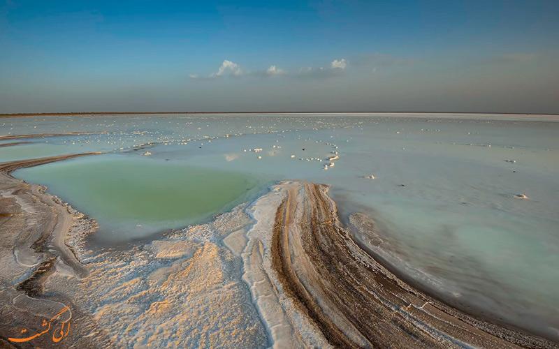 مسیر کوچ عشایر کوتچ و کویر نمکی هند