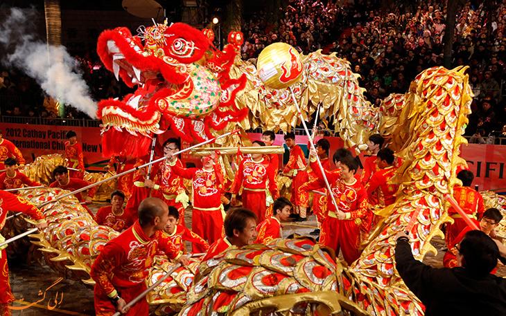 جشنواره سال نو چینی ها