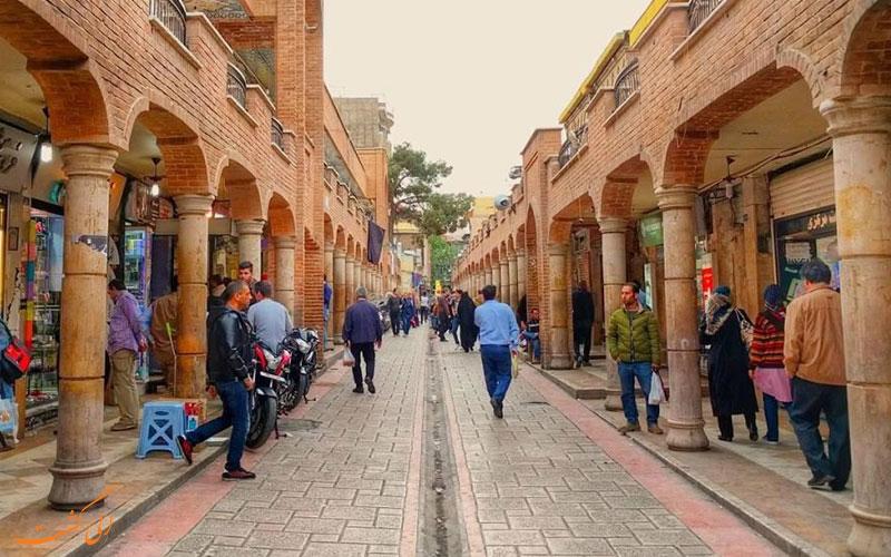 تاریخچه ی بازار بزرگ تهران