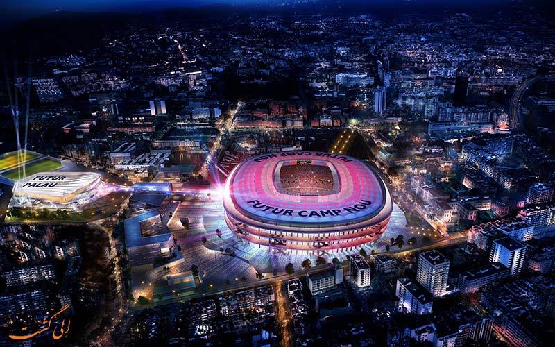 ورزشگاه نیوکمپ   Camp Nou