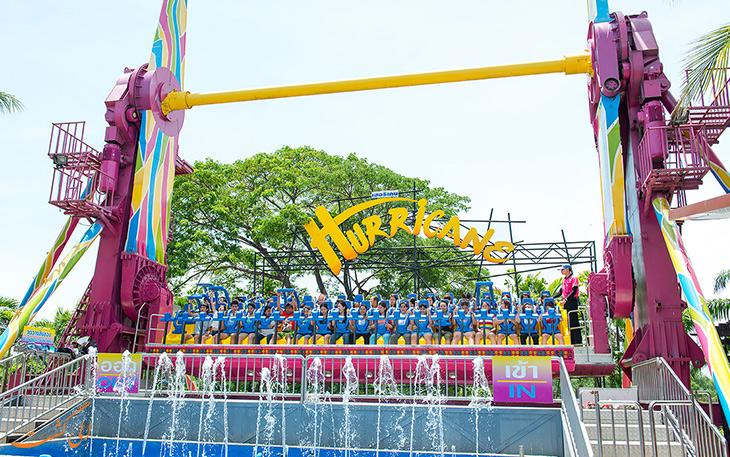 بازی های هیجان انگیز در دریم ورلد بانکوک