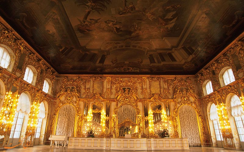 اتاق کهربا در روسیه | Amber Room in Russia