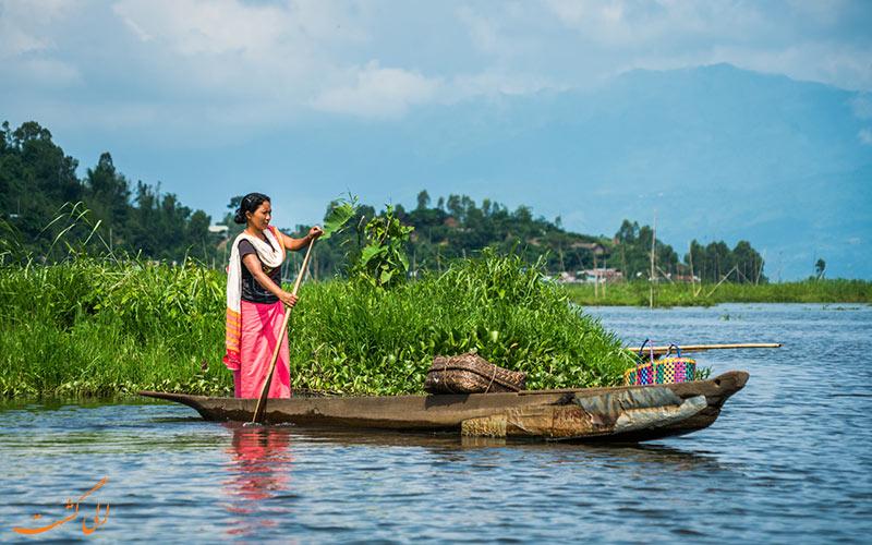 -نقشه کامل هندوستانLoktak-Lake-در-مانیپور