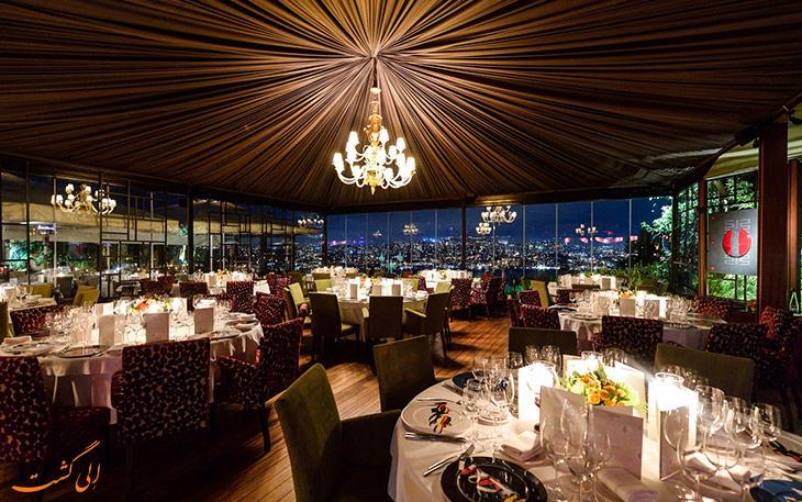 رستوران سانست گریل استانبول