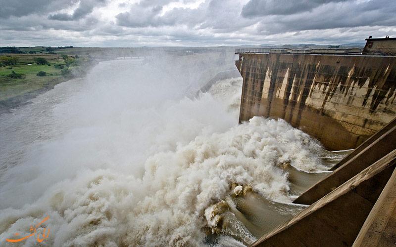 Vaal-Dam-and-Vaal-River-رودخانه های آفریقای جنوبی