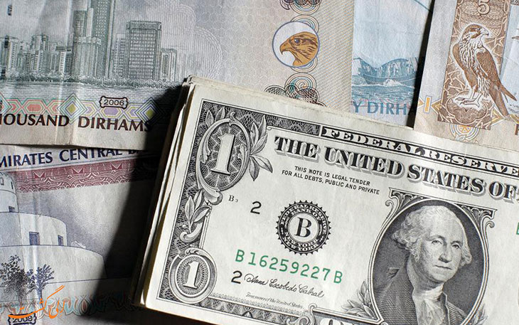 تبدیل دلار به درهم امارات