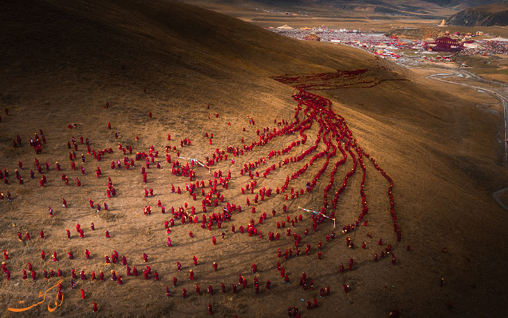 عکس رودخانه سرخ ایمان