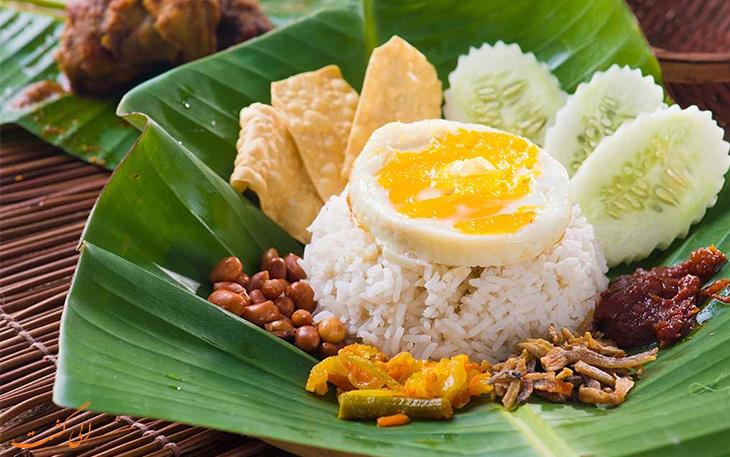 ناسی لماک صبحانه مالزی