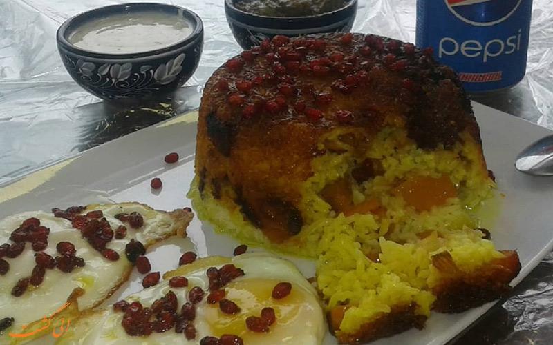 اسپناساک از غذاهای محلی استان مازندران