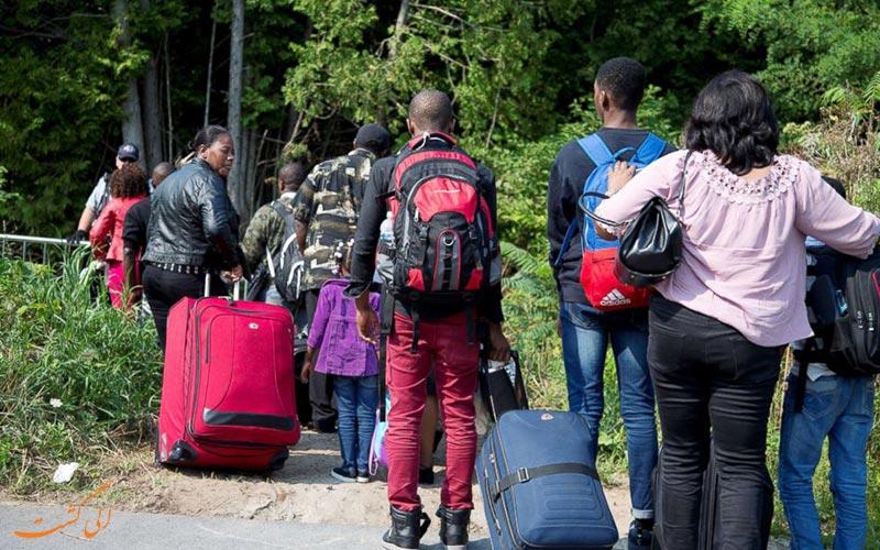 معایب پناهندگی و مشکلاتی که در برابر این پدیده بر سر راه ...