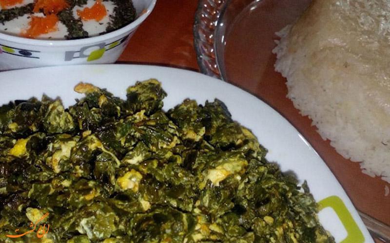 یکی از غذاهای مازندرانی