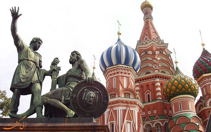 مجسمه میدان سرخ مسکو
