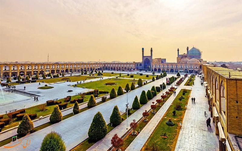 میدان نقش جهان-میراث جهانی یونسکو ایران