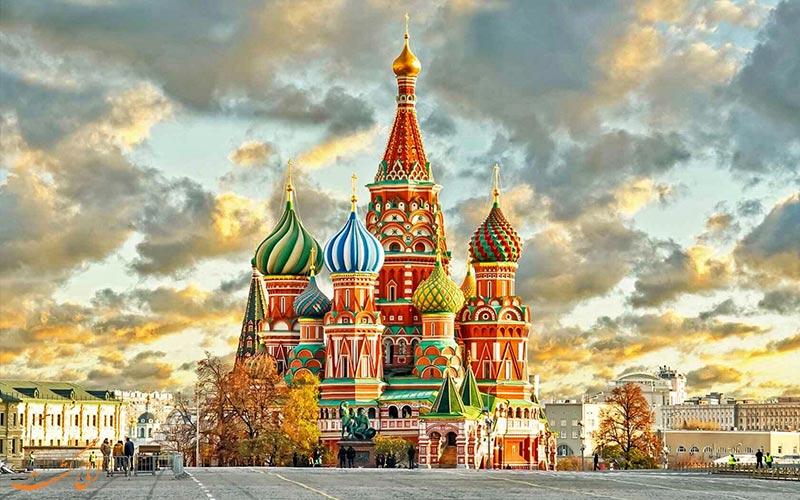 کلیسای سنت باسیل میدان سرخ مسکو