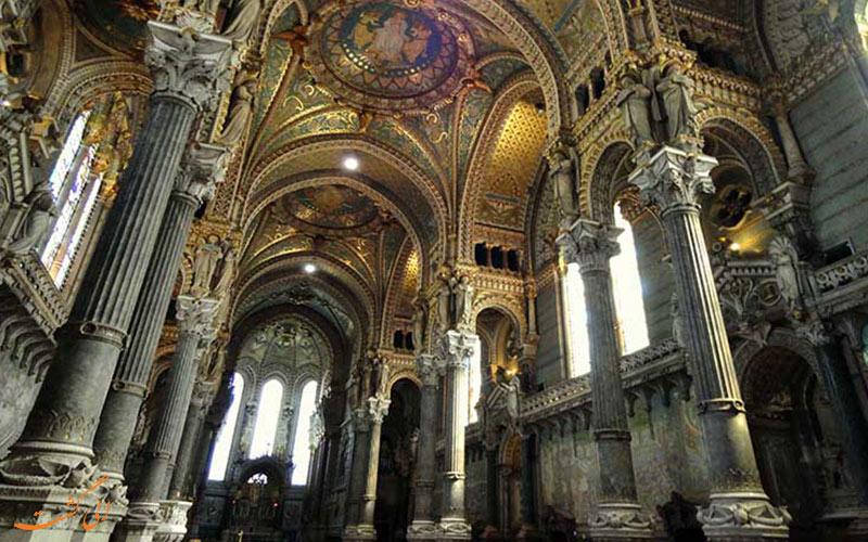 ● کلیسای نوتردام دی فوویه | Basilique Notre-Dame de Fourviere