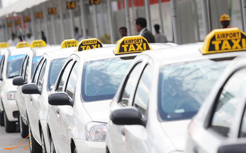 تاکسی های خصوصی شهر گوا