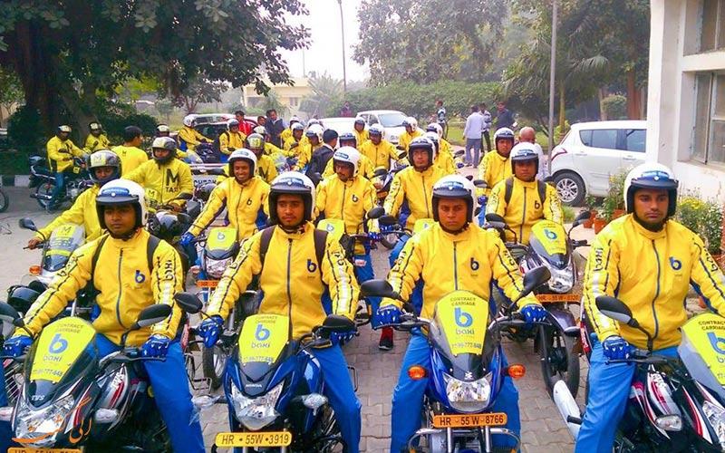 تاکسی موتوری در گوا