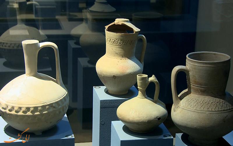کوزه های مجموعه ی باستان شناسی