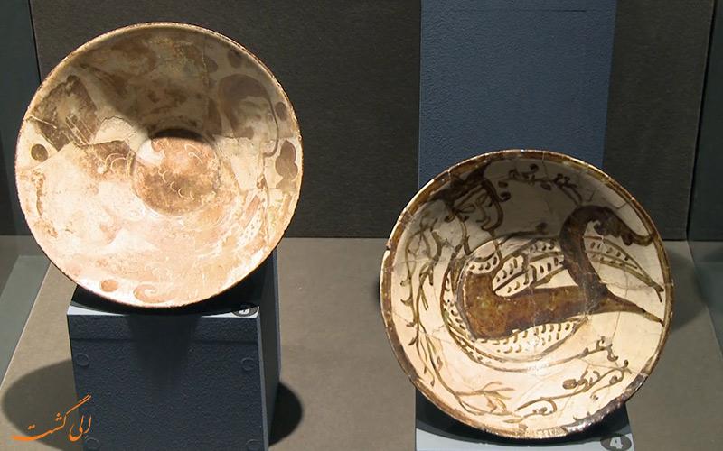 ظروف نمایش داده شده در مجموعه ی سوم موزه ارمنستان