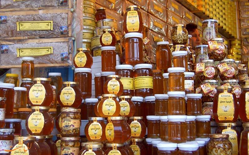 عسل یکی از سوغاتی های سرعین