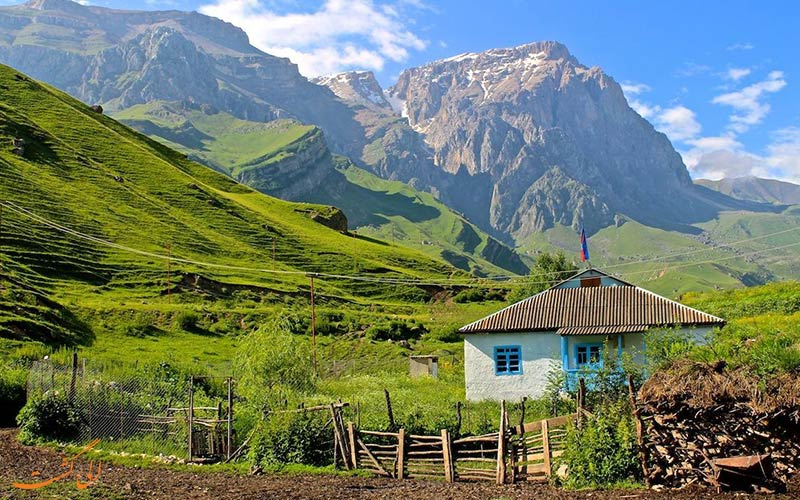 طبیعت سر سیز آذربایجان